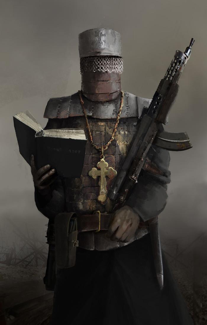 Saint Арт, Солдат, Оружие