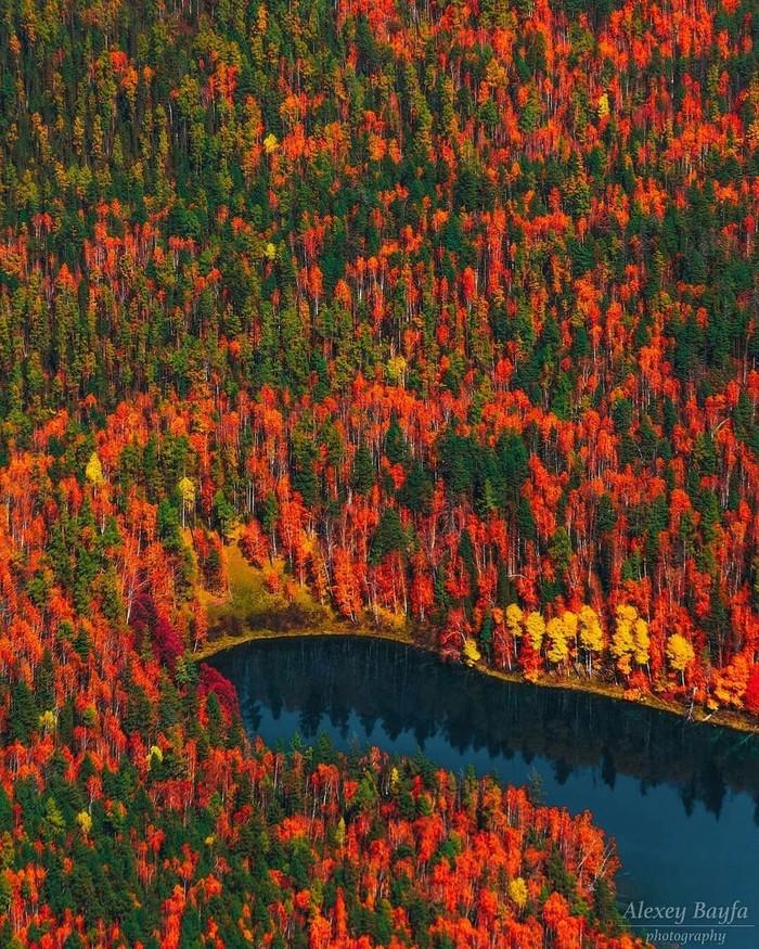 Осень в Иркутской области.