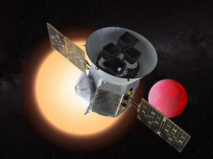 Телескоп TESS за два дня обнаружил две похожие на Землю планеты Планета, Спутник, Телескоп Кеплер