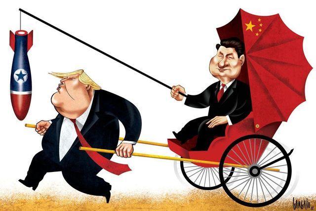 Как Трамп развивает российско-китайскую дружбу США, Россия, Китай, Санкции, Доминирование, Экономика, Александр Роджерс, Трамп, Длиннопост