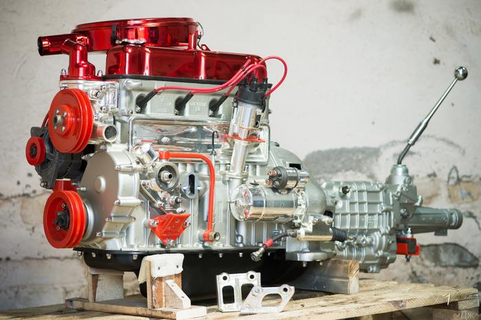 Двигатель для Волги. Волга, ГАЗ, ЗМЗ, Змз-24д, Газ-24, Eastwood, Хром, Двигатель, Длиннопост