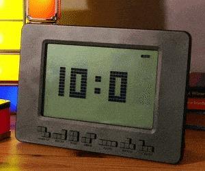 Часы-тетрис