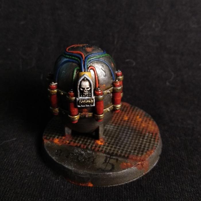 В ожидании кодекса орков. Warhammer 40k, Орки, Покраска миниатюр, Death Guard, Tau, Длиннопост, Wh miniatures