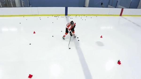 Тренировка. Хоккей, Спорт, Тренировка, Гифка