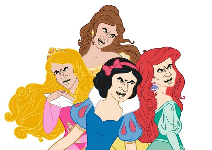 Диснеевский брутал Walt Disney Company, Принцессы диснея, Брутальность, Metallocalypse, Нэйтан Эксплоужен