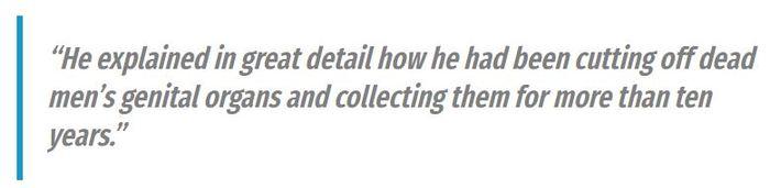В мире коллекционеров Морг, Пенис, Коллекционер, FBI, Хьюстон, Их нравы