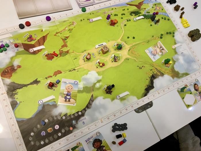 Чартерстоун - построй свою деревню Настольные игры, Игры, Красота, Впечатления, Charterstone, Обзор, Спойлер, Длиннопост