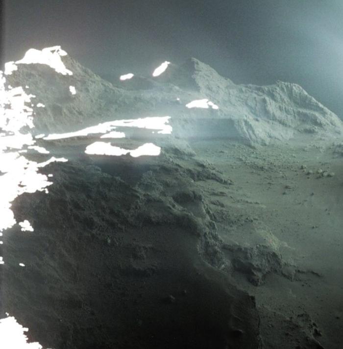 Горы. Где то не здесь. Космос, Комета Чурюмова-Герасименко, Розетта
