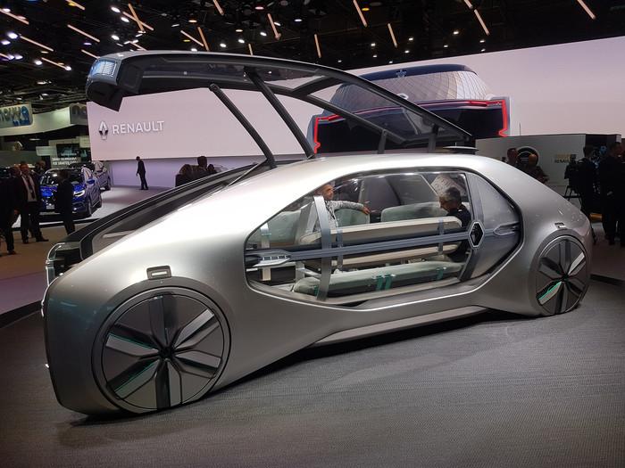 Renault верит, что будущее за люксовыми робокапсулами. Машина, Будущее, Рено