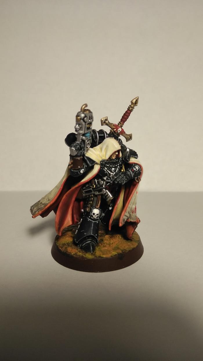 Сайфер - Хранитель секретов Wh miniatures, Warhammer 40k, Cypher, Падший ангел, Роспись, Темные ангелы, Длиннопост