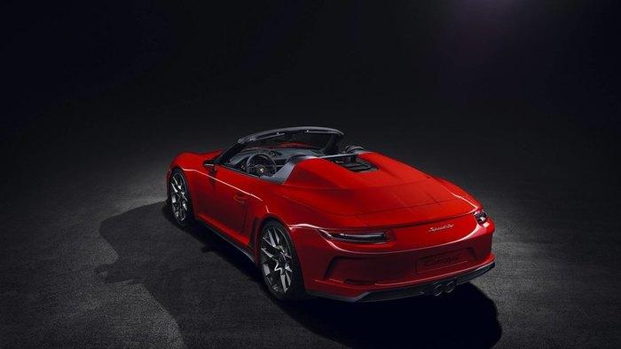 Porsche показала вторую версию 911 Speedster. Porsche, Спорткар, Авто, Длиннопост