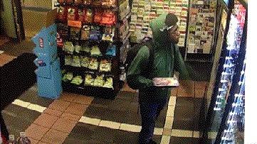 Весёлый парень Магазин, Камера наблюдения, Темнокожие парни, Холодильник, 9GAG, Гифка