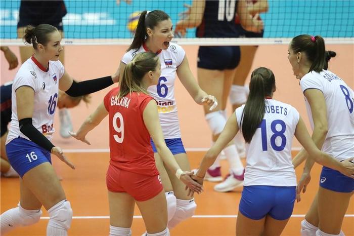 Сборная России по волейболу вышла во второй групповой этап на ЧМ Волейбол, Девушки, Чемпионат мира, Россия