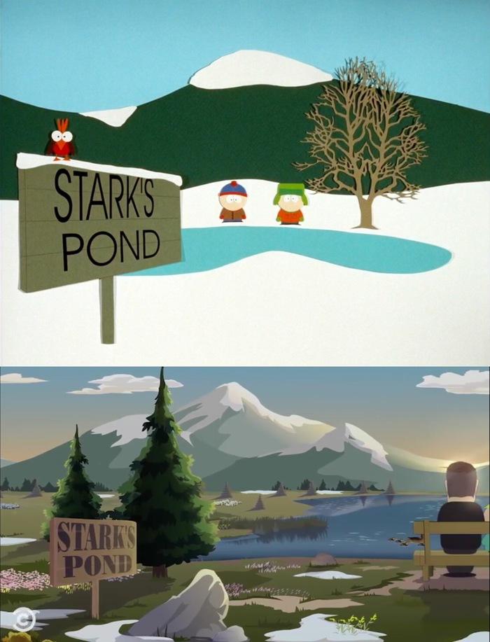 Анимация в South Park: 1997 vs 2018