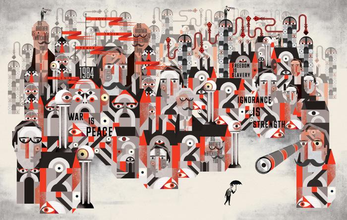 Жизнь как антиутопия: история и творчество Джорджа Оруэлла.Часть 1. Книги, Джордж Оруэлл, Антиутопия, 1984, Dtf, Длиннопост