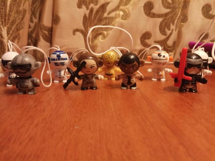Я собраль Киндер-Сюприз, Коллекция, Star Wars, Длиннопост