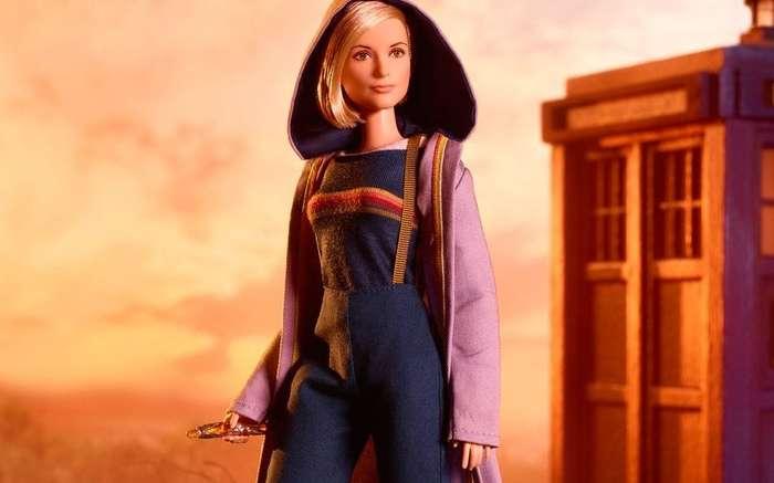 Barbie Who Доктор Кто, Тринадцатый Доктор, Джоди Уиттакер, Барби