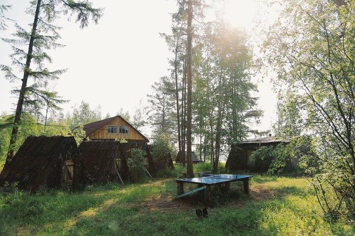 Бесконечное лето у реки Алдан Лагерь, Река, Якутия, Лето, Длиннопост