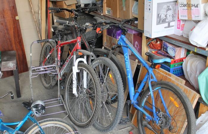 Зимовье великов Велосипед, Гараж, Хранение, Я сделяль, Длиннопост