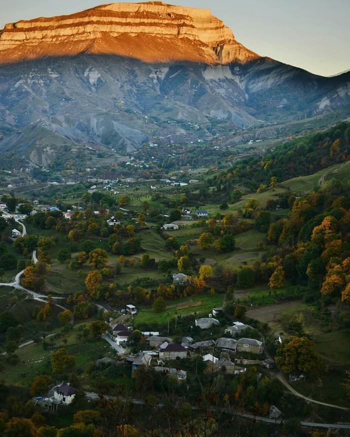 Село Куяда, Гунибский район, республика Дагестан.