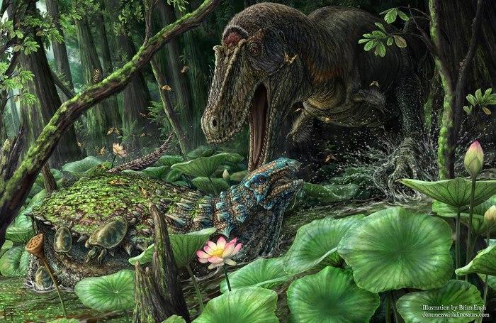 Динамотеррор! В Нью-Мексико открыли нового тираннозаврида Динозавры, Тираннозавр, Палеонтология, Палеоновости, Биология, Эволюция, Наука, Открытие, Длиннопост