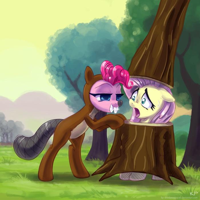 Ролевые игры My Little Pony, Pinkie Pie, Fluttershy, PonyArt
