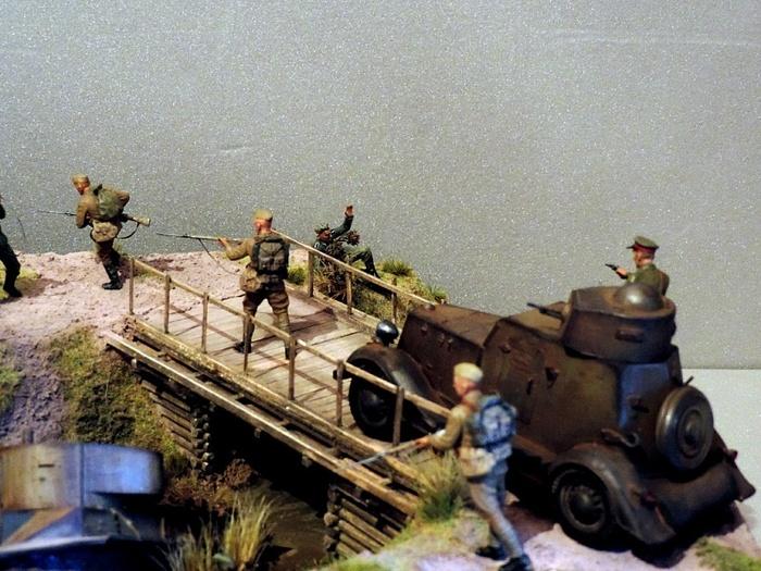 Атака Моделизм, Стендовый моделизм, Великая Отечественная война, Длиннопост