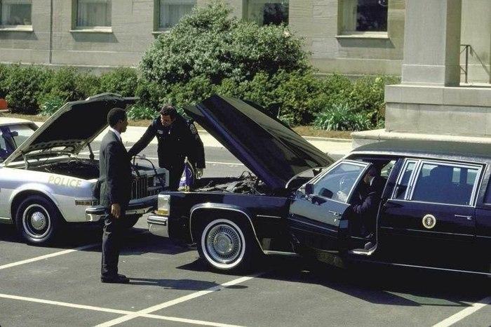 Вашингтон 1984 год. Лимузин, Полиция, Президент, США, Вашингтон, Ремонт, История, 80-е