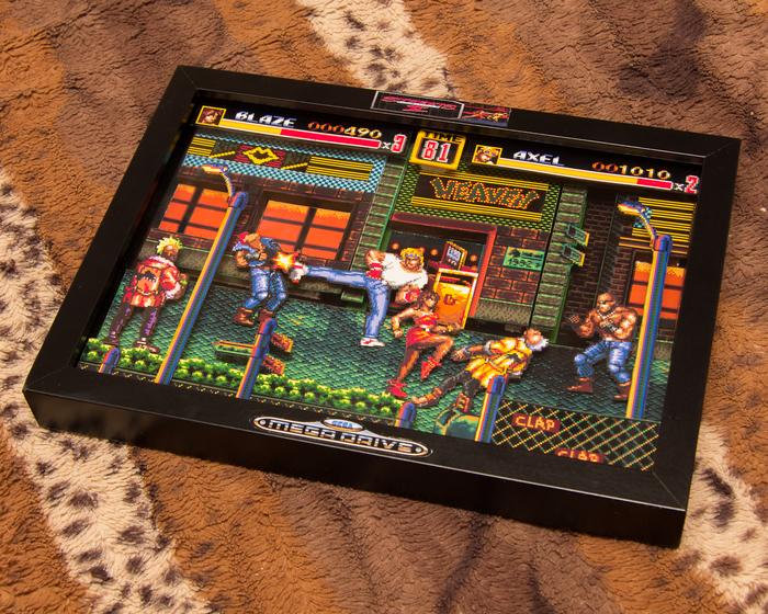 Диорама по игре Streets of rage 2 Streets of rage, Диорама, Своими руками, Ретро-Игры, Sega