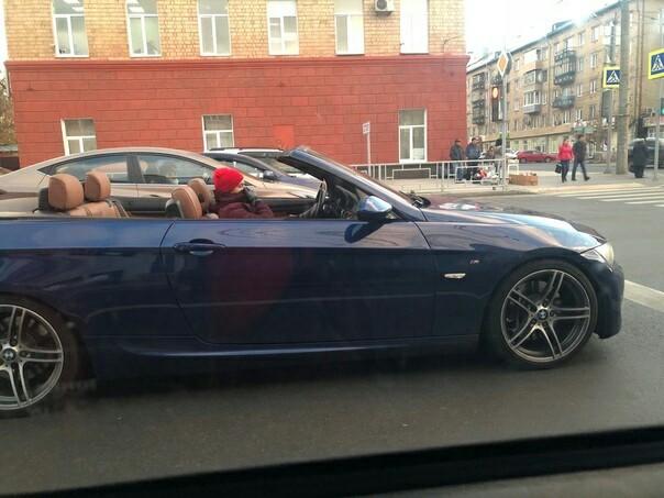 Когда у тебя есть кабриолет, но ты живёшь в Сибири (11.10.18)