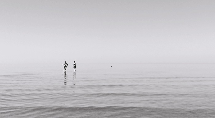 Балтийское море ранним утром