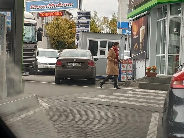 Наглость или глупость? Авто, Нарушитель, Казань, Автохам, Парковка