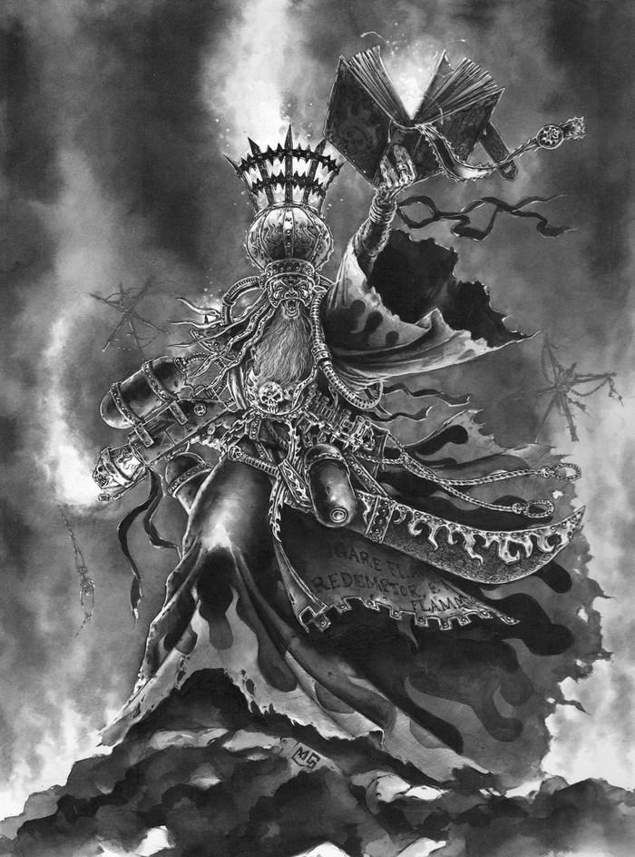 Подборка олдовой Некромунды Warhammer 40k, Old Warhammer, Necromunda, Wh art, Длиннопост