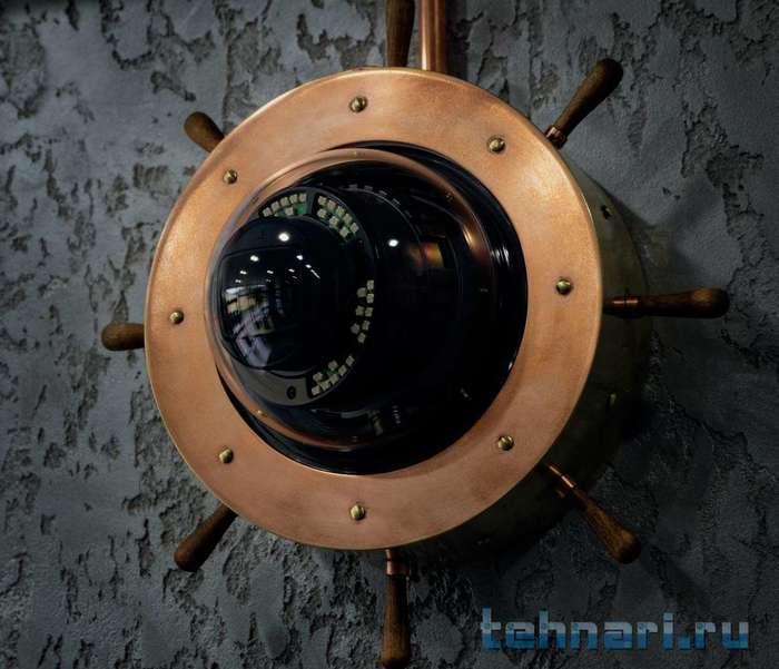 Стимпанк камеры видеонаблюдения Стимпанк, Камера наблюдения, Длиннопост