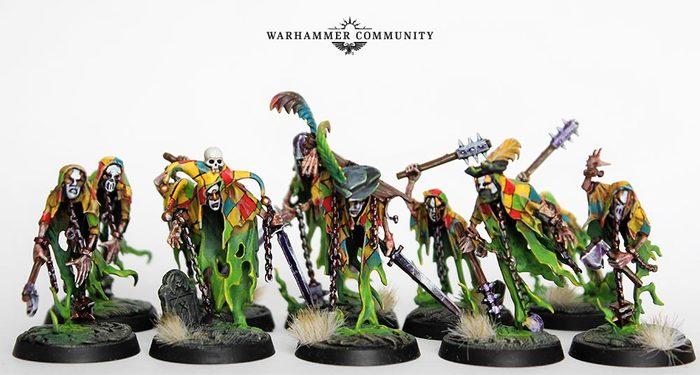Венецианские призраки с Warhammer Community Warhammer: Age of Sigmar, Nighthaunt, Conversion, AoS miniatures, Длиннопост