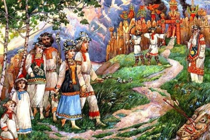 Любовные утехи в мифологии древних славян История, Древняя Русь, Славяне, Обычаи, Странные обычаи, Длиннопост