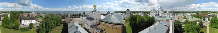 Панорама Ростова Великого Ростов Великий, Ярославская область, Панорама, Фотография