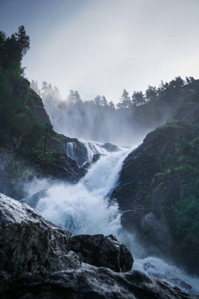 ВодопадЛотефосс, Норвегия