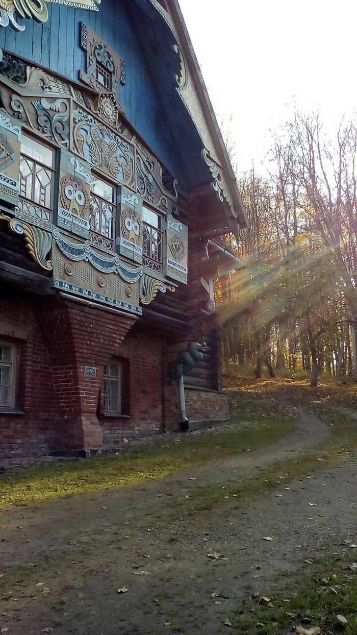 Дом - усадьба кн.Тенишевой. Дом Тенишевой, Усадьба, Моё, Фото солнечных лучей