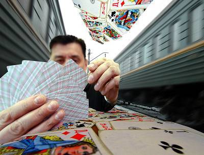 Игра без шансов на выигрыш Железная Дорога, Попутчики, Карты деньги два ствола, Воровство, Азартные игры, Длиннопост