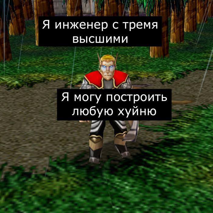 Мастер на все руки Врата Оргриммара, Игры, Компьютерные игры, Warcraft, Warcraft 3, Длиннопост, Коммунизм, Мат