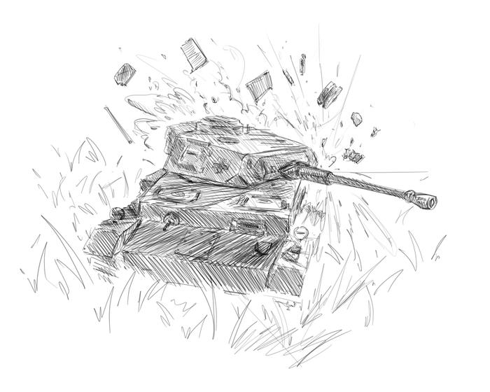 Быстрорисунки Рисунок, Цифровой рисунок, Скетч, Война, Длиннопост