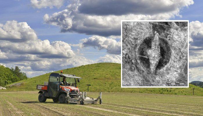 Викинги в полях: ученые нашли древний деревянный корабль Археология, Открытие, Наука, Викинги, Корабль, Длиннопост