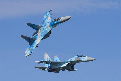 Американский пилот погиб при аварии Су-27 на Украине Су-27, США, Украина, Авария
