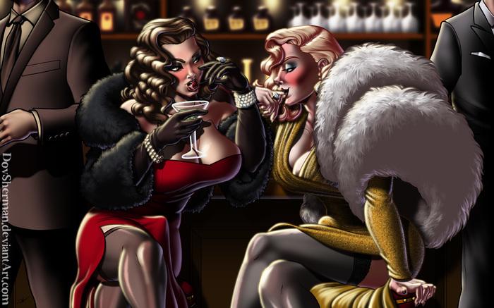 Femme Fatales DovSherman, Its a trap!, Кроссдрессинг