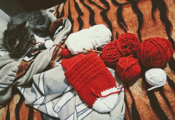 Как я первый раз вязала носки) Хобби, Вязание крючком, Рукоделие без процесса, Новичок, Носки, Доктор Кто, Длиннопост