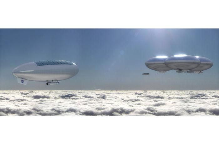 НАСА планирует запустить дирижабли на Венере NASA, Космос, Планирует, Запустить, Дирижабль, На венере, Длиннопост