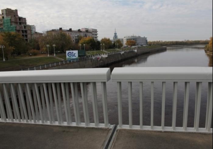 Фомин и мост. Опасные недоработки. Омск, Мост, Фомин, Все через жопу, Администрация