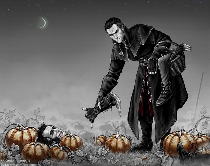 Осень - это... Ведьмак 3, Ведьмак, Регис, Детлафф, Шани, Радовид, Арт, Талер, Длиннопост