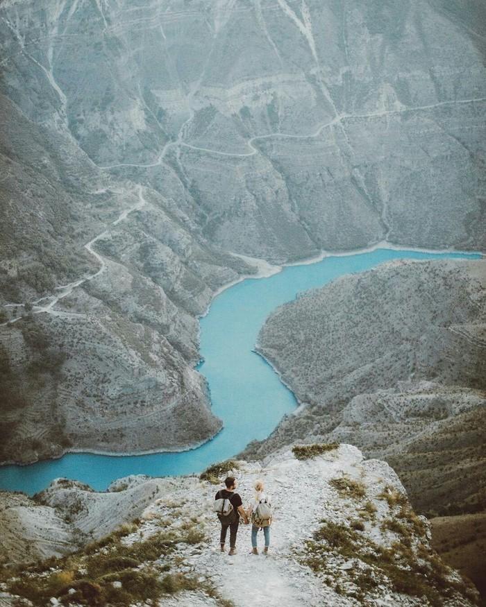 Река Сулак, республика Дагестан.